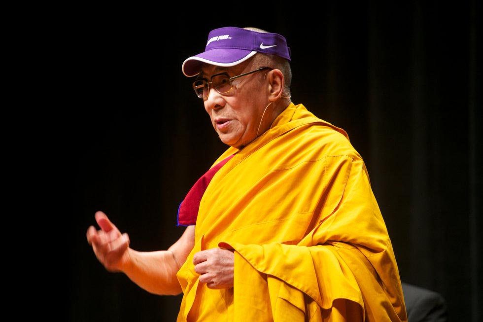 His Holiness Dalai Lama at Environmental Summit in Oregon